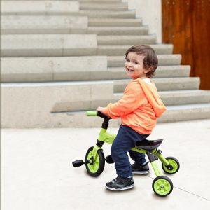 TCV 二合一摺疊式滑步車/三輪車